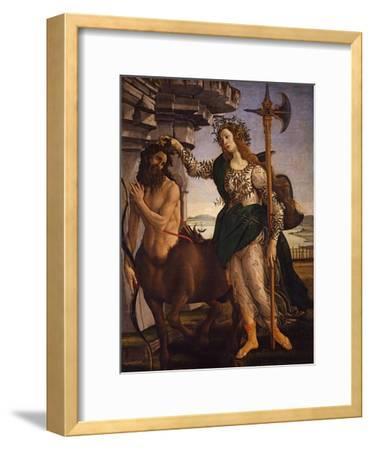 Pallas Athena and the Centaur, 1482
