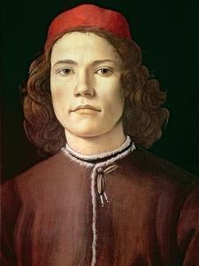 Portrait of a Young Man, circa 1480-85 by Sandro Botticelli