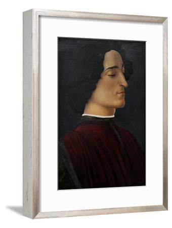 Portrait of Giuliano De Medici, 1478