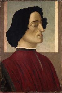 Portrait of Giuliano De' Medici, Ca 1475 by Sandro Botticelli