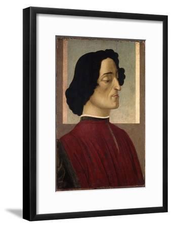 Portrait of Giuliano De' Medici, Ca 1475