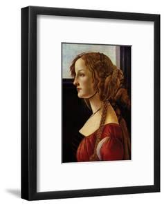 Portrait of Simonetta Vespucci by Sandro Botticelli