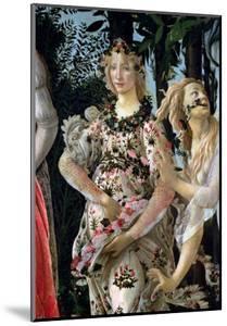 Primavera: Detail of Flora by Sandro Botticelli
