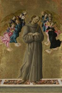 Saint Francis of Assisi with Angels, Ca 1475 by Sandro Botticelli
