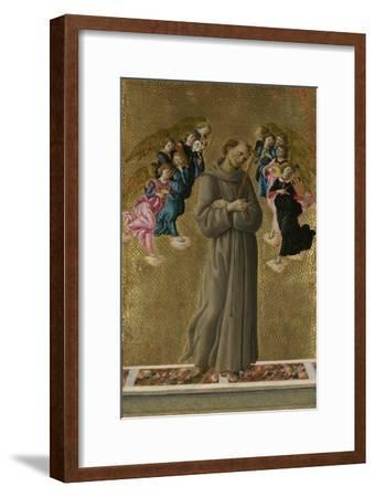Saint Francis of Assisi with Angels, Ca 1475