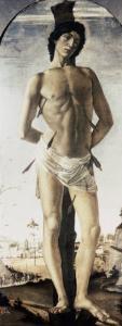 Saint Sebastian by Sandro Botticelli