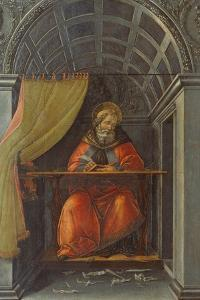 Salint Augustine in His Cell by Sandro Botticelli