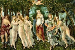 Sandro Botticelli - 'Primavera' by Sandro Botticelli