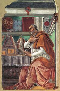 St Augustine in His Cell by Sandro Botticelli