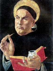 St. Thomas Aquinas by Sandro Botticelli