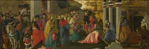 The Adoration of the Kings, Ca 1470 by Sandro Botticelli