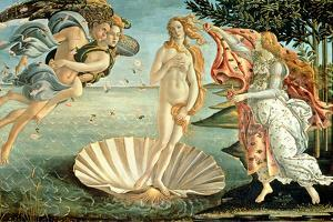 The Birth of Venus, 1486 by Sandro Botticelli