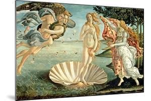 The Birth of Venus, 1486 by Sandro Botticelli