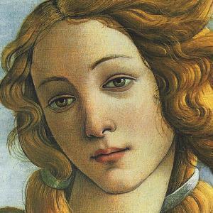 The Birth of Venus, c.1485 (detail) by Sandro Botticelli