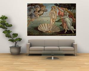The Birth of Venus, c.1485 by Sandro Botticelli