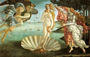 The Birth of Venus, C1482-1486 by Sandro Botticelli