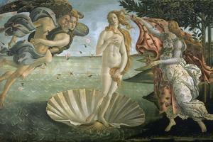 The Birth of Venus, Ca. 1485 by Sandro Botticelli