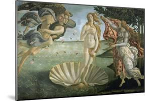 The Birth of Venus, Ca. 1485 by Sandro Botticelli