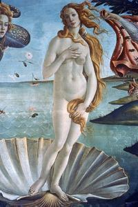 The Birth of Venus (Detail), C1485 by Sandro Botticelli