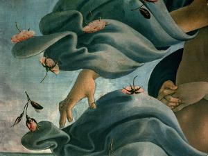 The Birth of Venus (Venus Anadyomene) by Sandro Botticelli