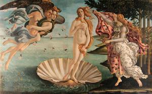 The Birth of Venus by Sandro Botticelli
