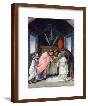 The Last Communion of St Jerome, C1495