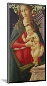 The Madonna and Child in a Niche Decorated with Roses by Sandro Botticelli