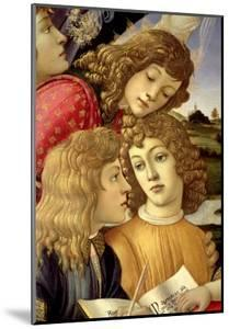 The Madonna of the Magnificat, Detail of Three Boys, 1482 by Sandro Botticelli