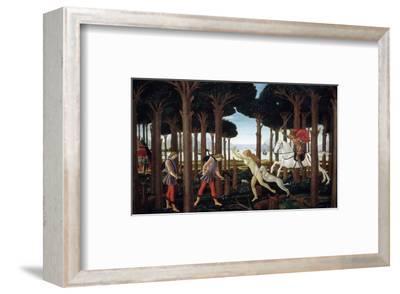 The Story of Nastagio Degli Onesti (First Episode), 1483 (From Boccaccio's Decameron)