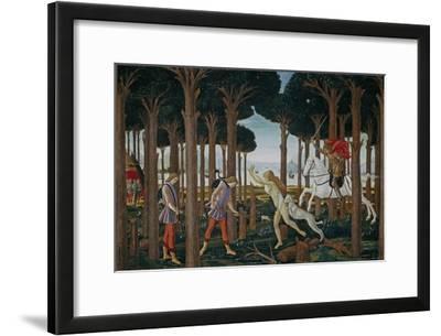 The Story of Nastagio Degli Onesti (First Episode), Ca 1483