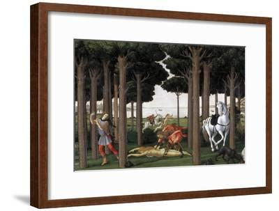 The Story of Nastagio Degli Onesti (Second Episode), Ca 1483