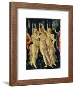 The Three Graces by Sandro Botticelli