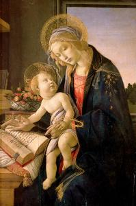 The Virgin Teaching the Infant Jesus to Read by Sandro Botticelli