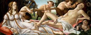 Venus and Mars, circa 1485 by Sandro Botticelli