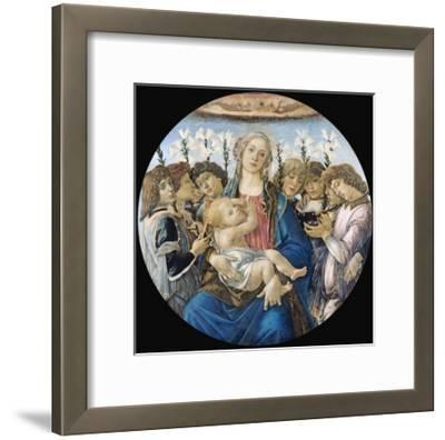 Virgin and Child with Eight Angels