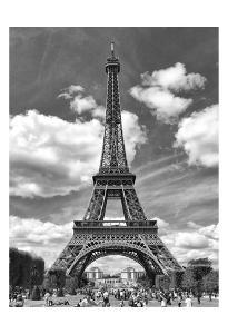 Eiffel 5 by Sandro De Carvalho