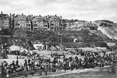 Sands and Marina, Boscombe, Bournemouth, Dorset, Early 20th Century--Giclee Print