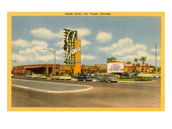 Sands Hotel, Las Vegas, Nevada--Art Print