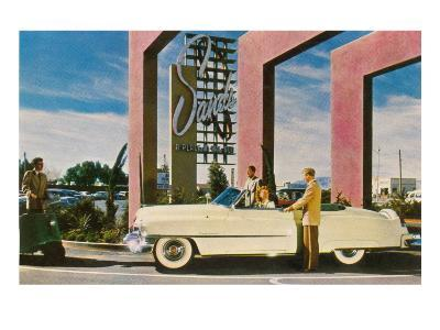 Sands Hotel, Las Vegas, Nevada--Art Print