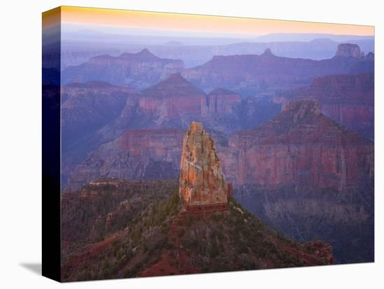 Sandstone Buttes and Cliffs at Grand Canyon National Park-John Eastcott & Yva Momatiuk-Stretched Canvas Print