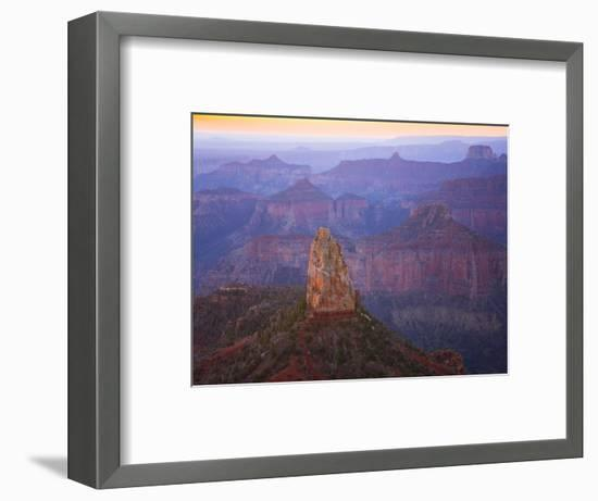 Sandstone Buttes and Cliffs at Grand Canyon National Park-John Eastcott & Yva Momatiuk-Framed Photographic Print