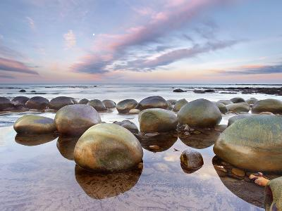 Sandstone Concretions Bowling Ball Beach Mendocino County
