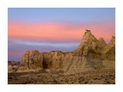 Sandstone formations in Kaiparowits Plateau, Grand Staircase, Escalante National Monument, Utah-Tim Fitzharris-Art Print