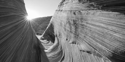 Sandstone Rock Formations, the Wave, Coyote Buttes, Utah, USA--Photographic Print