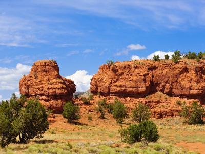 Sandstone Scenery around Jemez Springs, New Mexico, United States of America, North America-Michael DeFreitas-Photographic Print