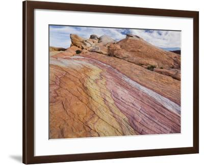 Sandstone, Valley of Fire State Park, Nevada, Usa-Rainer Mirau-Framed Photographic Print