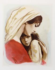 Mother and Child by Sandu Liberman