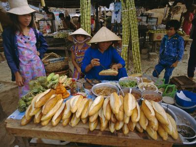 Sandwiches on French Bread, Nha Trang, Vietnam, Indochina, Southeast Asia, Asia-Tim Hall-Photographic Print