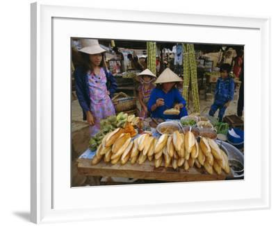 Sandwiches on French Bread, Nha Trang, Vietnam, Indochina, Southeast Asia, Asia-Tim Hall-Framed Photographic Print
