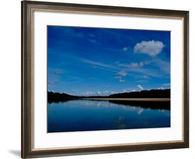 Sandy Banks in the Peruvian Amazon, Tamboppata River, Peru-Cindy Miller Hopkins-Framed Photographic Print